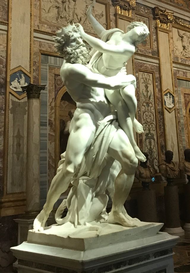 Bernini-Rape of Proserpina
