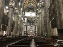 In the Duomo in Milan